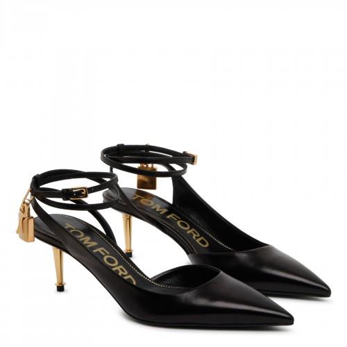 Rockstud black shopper bag