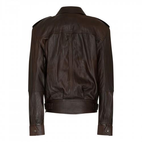 Striped cotton blue blouse