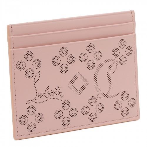 Floral motif tote bag
