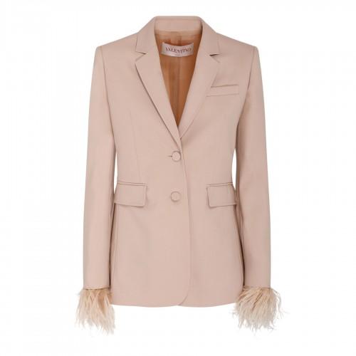 VRING small tan leather shoulder bag