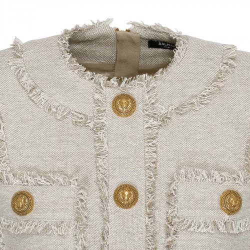 Rockstud tan leather shopper bag