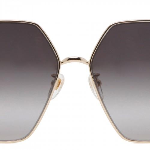 VSLING metallic silver cross-body bag