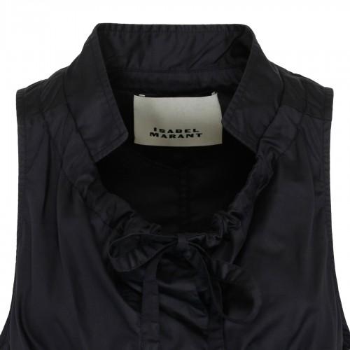Black floral lace skirt