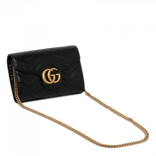 Miniskirt in denim laminated effect