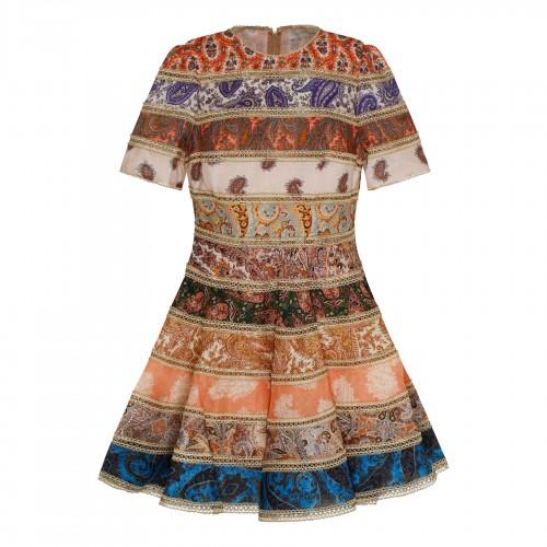 White mandarin collar shirt