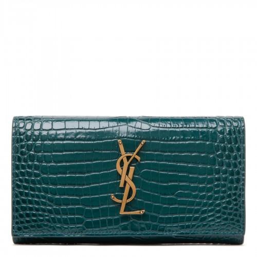 GG lamé wool skirt
