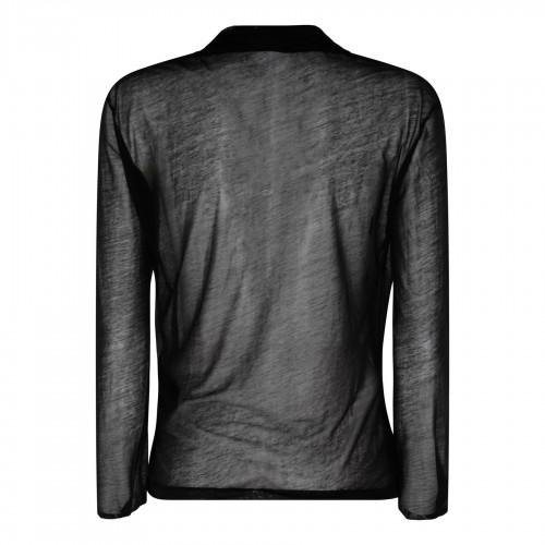 Beige linen blend pants