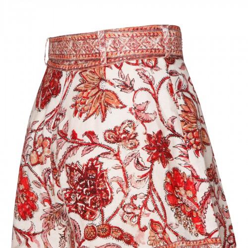 Dark navy high-rise shorts